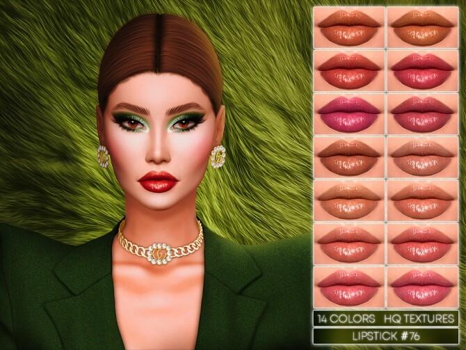 Sims 4 LIPSTICK #76 by Jul Haos at TSR