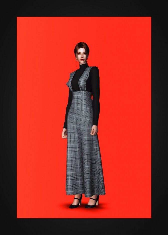 Alice Dress at Gorilla image 1216 670x938 Sims 4 Updates