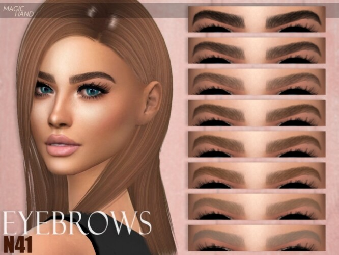 Eyebrows N41 by MagicHand