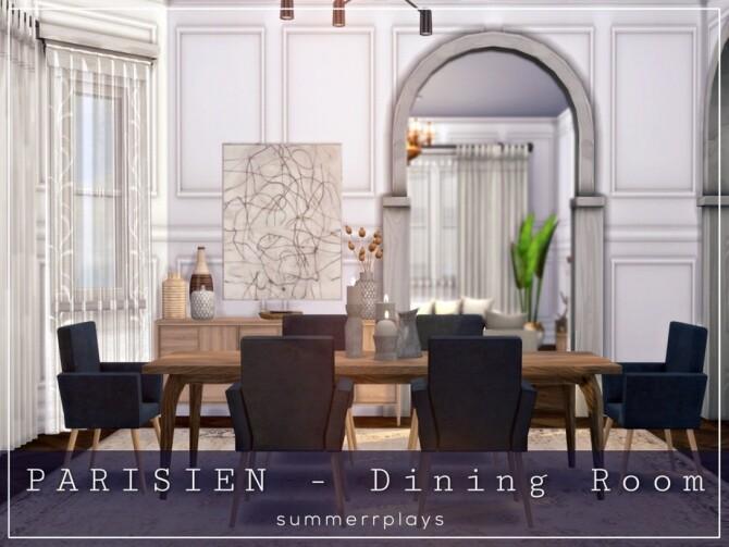 Parisien Dining ROOM by Summerr Plays