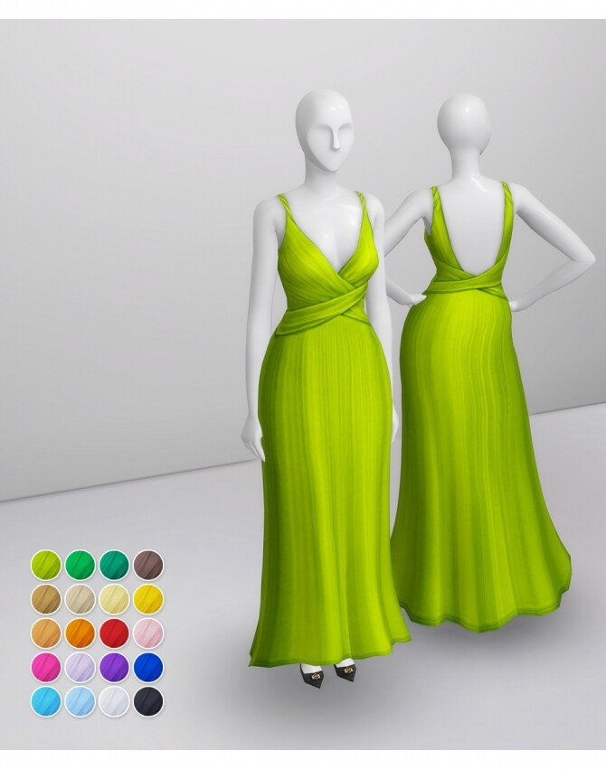 Shape Gown at Rusty Nail image 1234 670x851 Sims 4 Updates