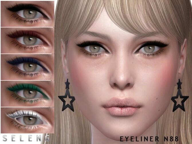 Sims 4 Eyeliner N88 by Seleng at TSR