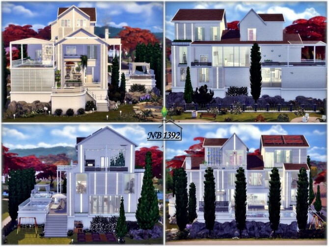 Alamande house by nobody1392 at TSR image 1240 670x503 Sims 4 Updates