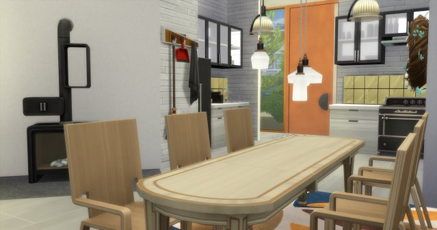 Sims 4 Town house by Oldbox at All 4 Sims