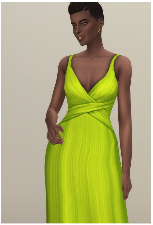 Shape Gown at Rusty Nail image 1244 Sims 4 Updates