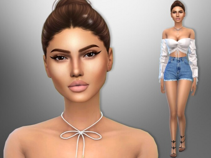 Sims 4 Juliet Ponce by divaka45 at TSR