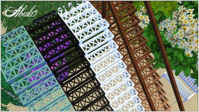 Sims 4 Kaidan Stairs at Abuk0 Sims4