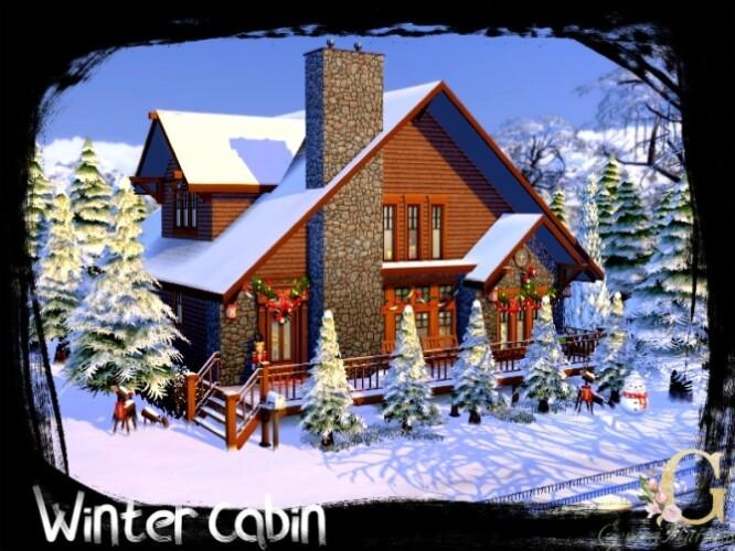 Winter Cabin by GenkaiHaretsu