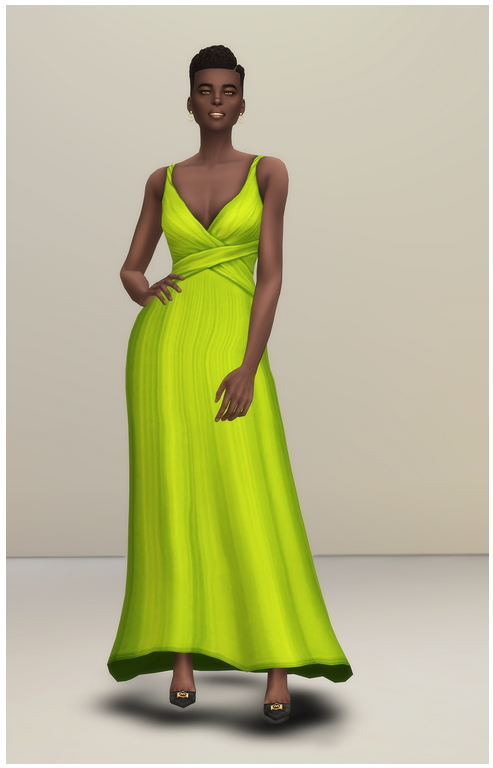 Shape Gown at Rusty Nail image 1254 Sims 4 Updates