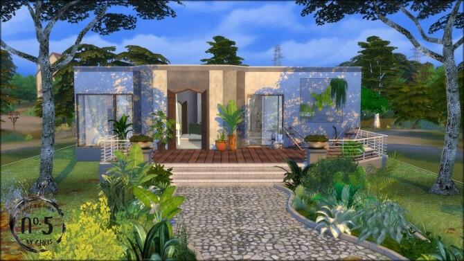 No.5 Conceptione concrete house at DOMICILE HOME TS4 image 12612 670x377 Sims 4 Updates