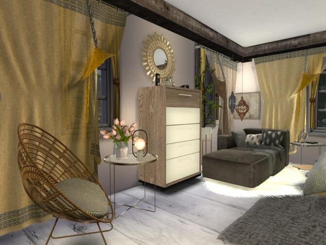 Boho Chic Maaikes Bedroom by fredbrenny at TSR image 1266 670x503 Sims 4 Updates
