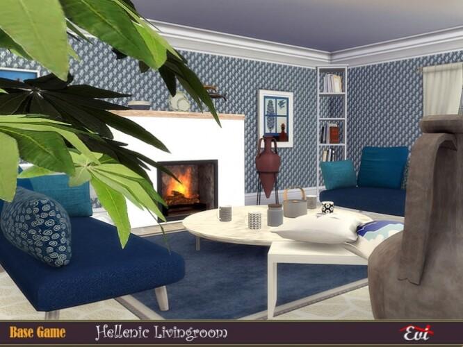 Hellenic livingroom by evi