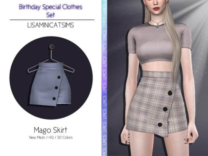LMCS Mago Skirt by Lisaminicatsims