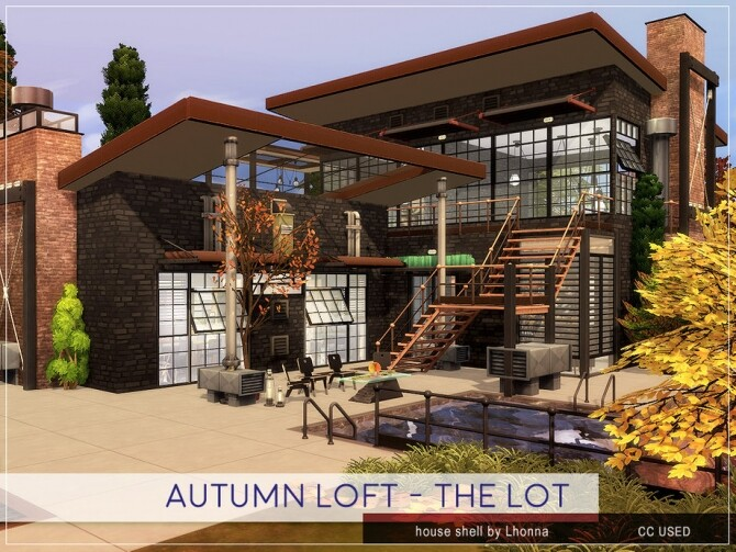Sims 4 Autumn Loft by Lhonna at TSR