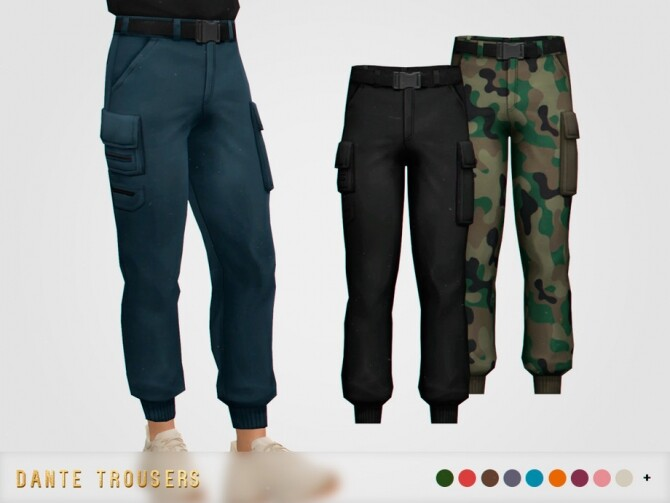 Dante Trousers by pixelette at TSR image 13013 670x503 Sims 4 Updates