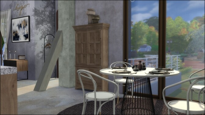 No.5 Conceptione concrete house at DOMICILE HOME TS4 image 13116 670x377 Sims 4 Updates