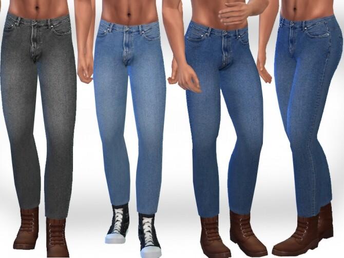 Sims 4 Crop Jeans by Saliwa at TSR