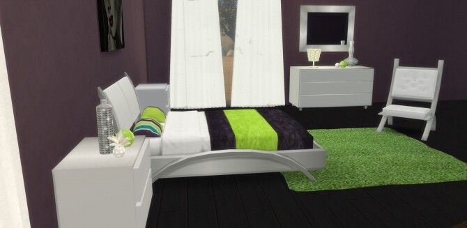 Cara Bedroom at LIZZY SIMS image 13211 670x327 Sims 4 Updates