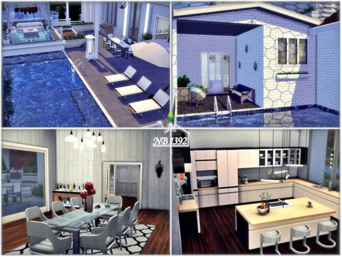 Alamande house by nobody1392 at TSR image 1330 670x503 Sims 4 Updates