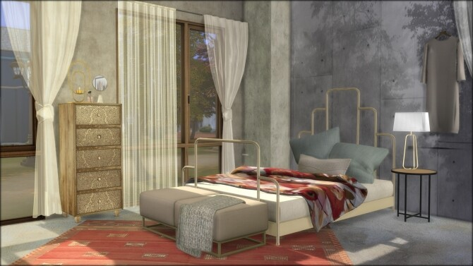 No.5 Conceptione concrete house at DOMICILE HOME TS4 image 13411 670x377 Sims 4 Updates