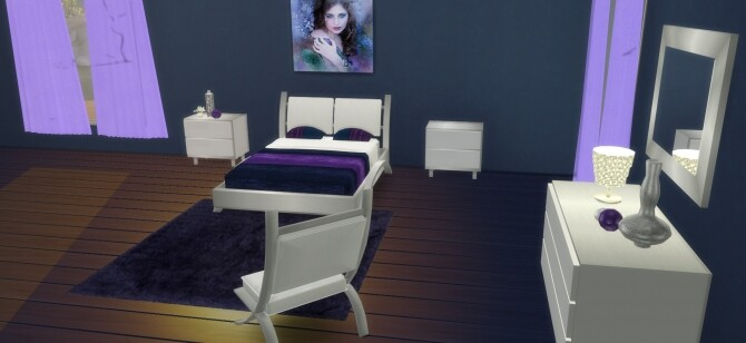 Cara Bedroom at LIZZY SIMS image 1349 670x308 Sims 4 Updates
