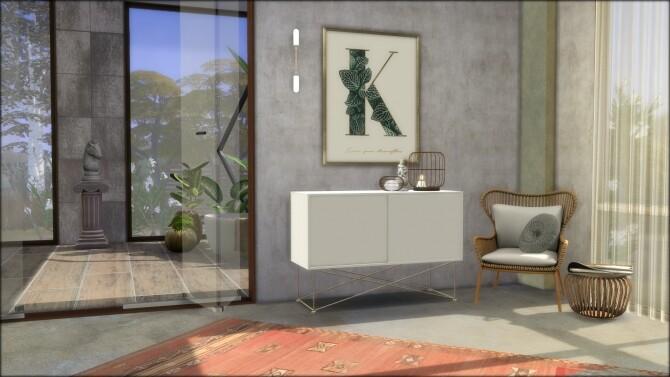 Sims 4 No.5 Conceptione concrete house at DOMICILE HOME TS4