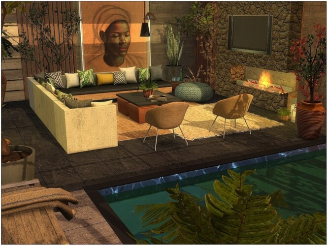Tropical Livingroom by lotsbymanal