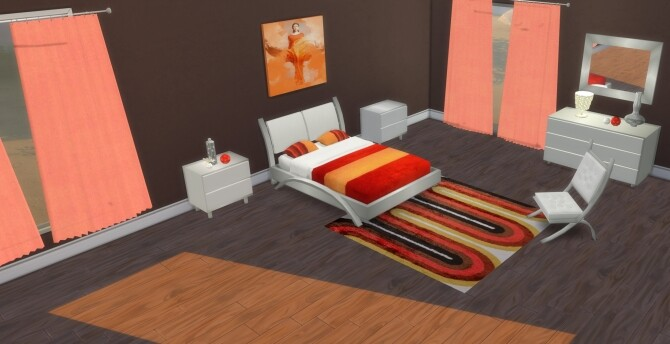 Cara Bedroom at LIZZY SIMS image 1358 670x344 Sims 4 Updates