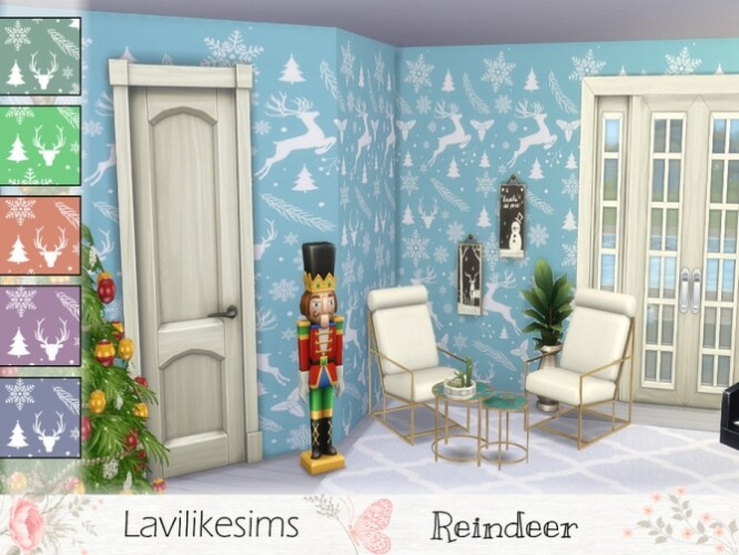 Reindeer wallpaper by lavilikesims