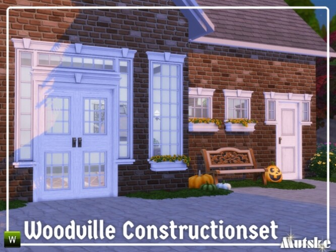 Woodville Construction set Part 6 by mutske