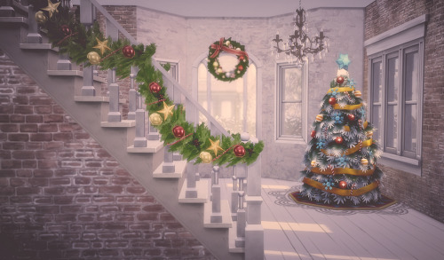 Holiday Garlands for Staircase Rail at Garden Breeze Sims 4 image 1409 Sims 4 Updates