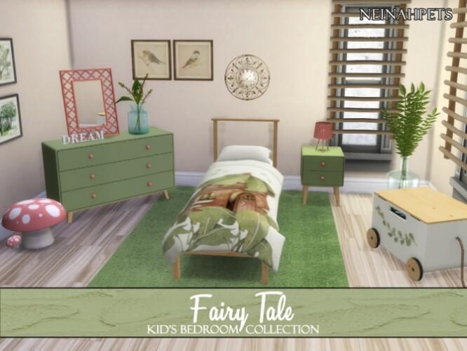 Fairy Tale Kid's Bedroom by neinahpets
