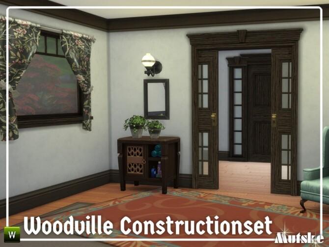 Sims 4 Woodville Construction set Part 4 by mutske at TSR