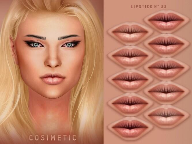 Lipstick N33 by cosimetic