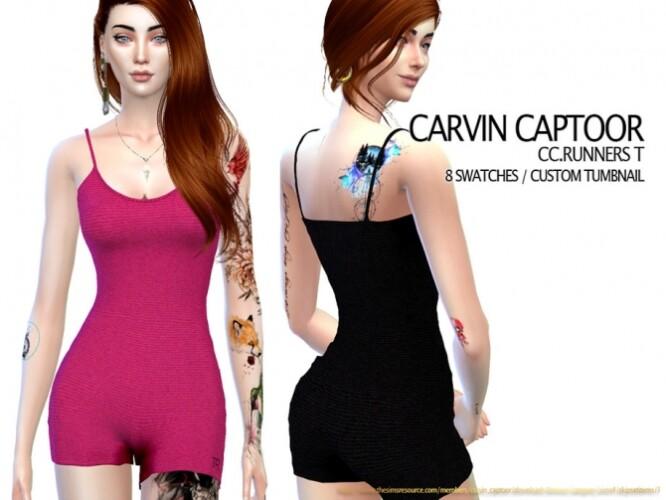Runners T romper by carvin captoor