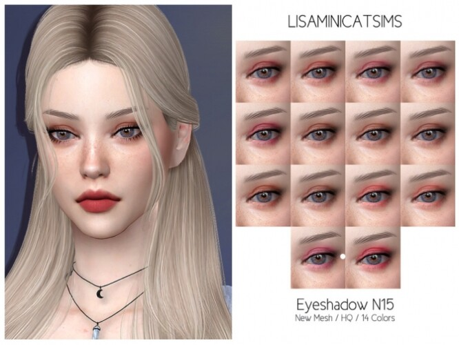LMCS Eyeshadow N15 HQ by Lisaminicatsims