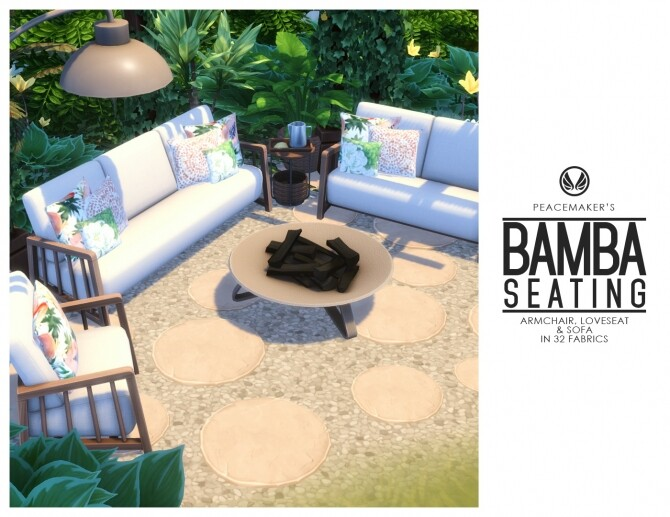 Bamba Seating   Outdoor Inspired Comfort Set at Simsational Designs image 1446 670x517 Sims 4 Updates
