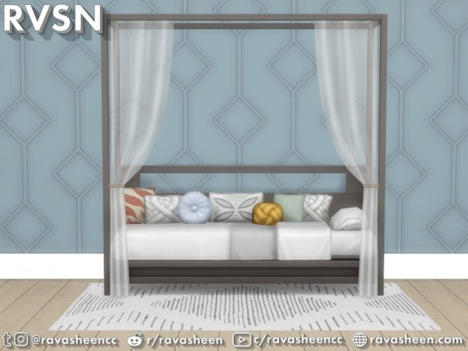 Bedder Than A Couch Daybed Frames by RAVASHEEN at TSR image 145 670x503 Sims 4 Updates