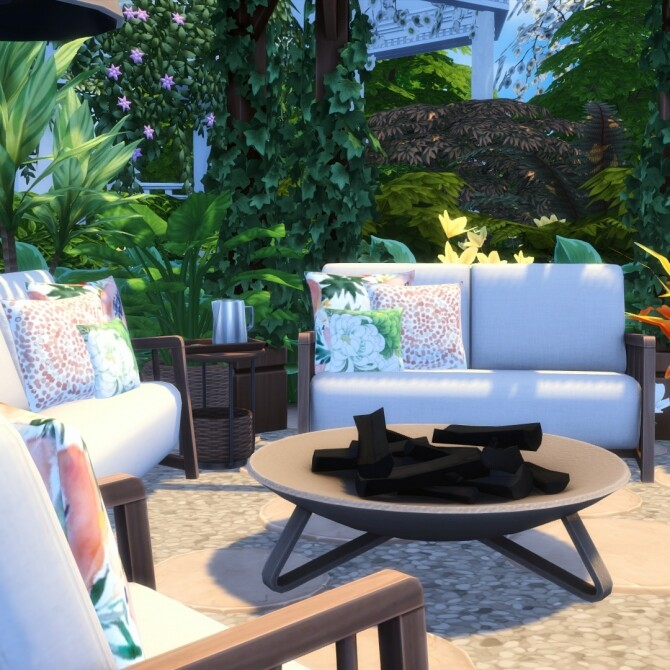 Bamba Seating   Outdoor Inspired Comfort Set at Simsational Designs image 1456 670x670 Sims 4 Updates