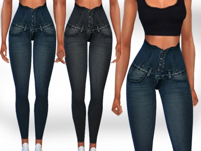High Waist New Style Jeans by Saliwa