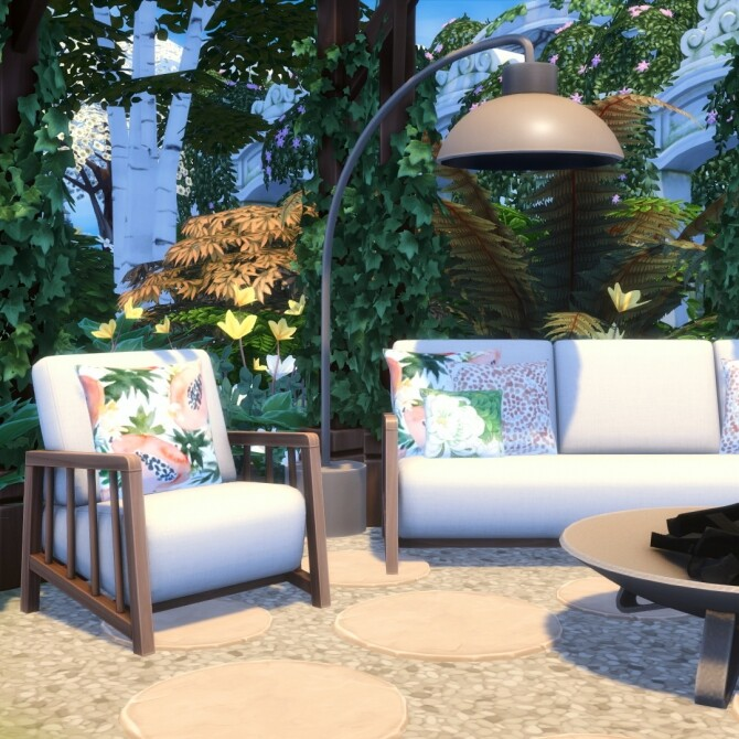 Bamba Seating   Outdoor Inspired Comfort Set at Simsational Designs image 1466 670x670 Sims 4 Updates