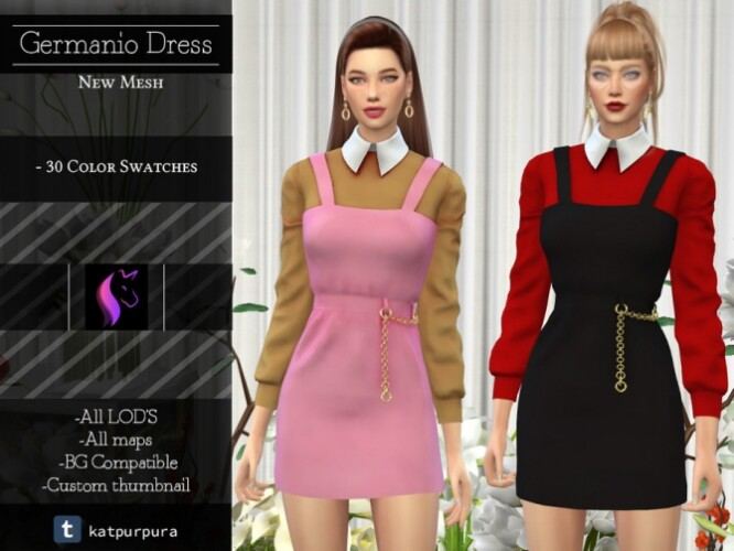 Germanio Dress by KaTPurpura