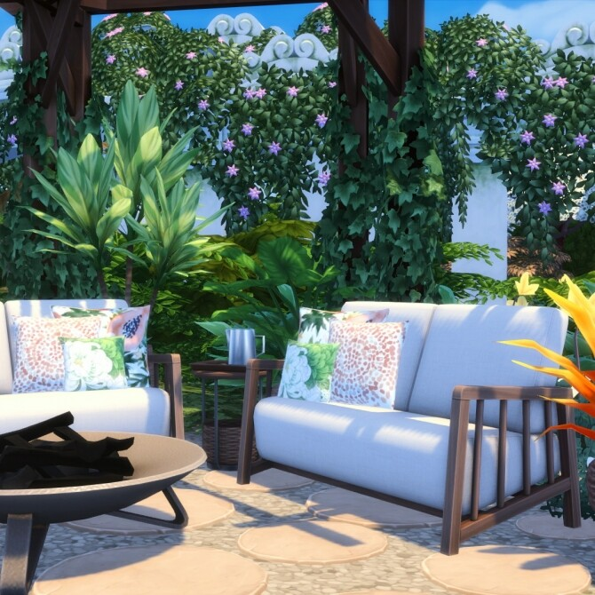 Bamba Seating   Outdoor Inspired Comfort Set at Simsational Designs image 1476 670x670 Sims 4 Updates