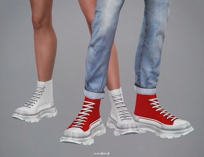 TS high top sneakers at MMSIMS image 1496 670x517 Sims 4 Updates