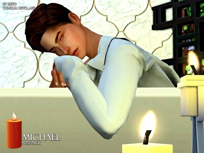 Sims 4 Michael Pose pack by Beto ae0 at TSR