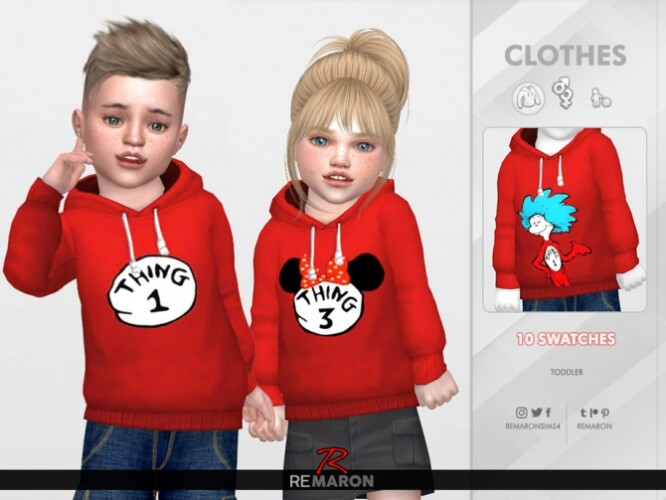 Thing Hoodie for Toddler 01 by remaron