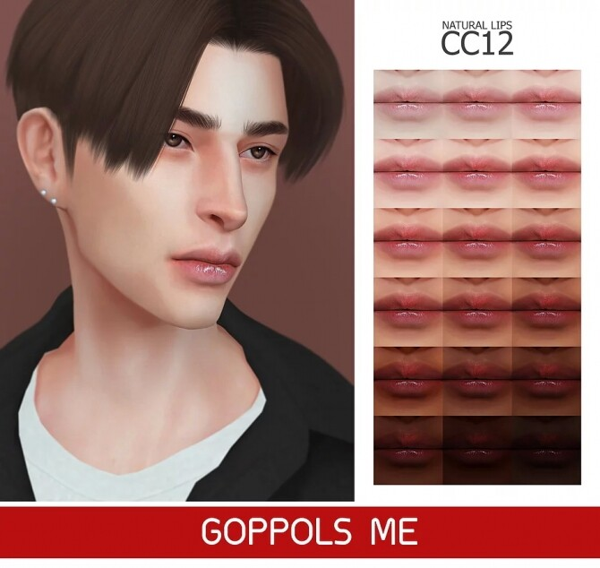 GPME GOLD Natural Lips CC12 at GOPPOLS Me image 15311 670x634 Sims 4 Updates
