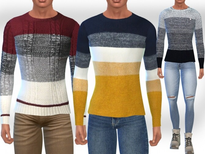 Fit Pullovers M by Saliwa at TSR image 15312 670x503 Sims 4 Updates