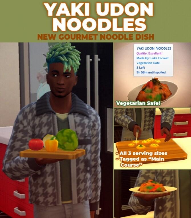 Yaki Udon Noodles by RobinKLocksley