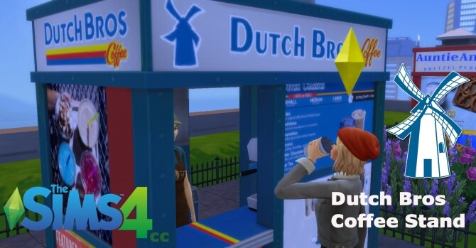 Dutch Bros Coffee Stand by ArLi1211 at Mod The Sims image 1567 670x349 Sims 4 Updates